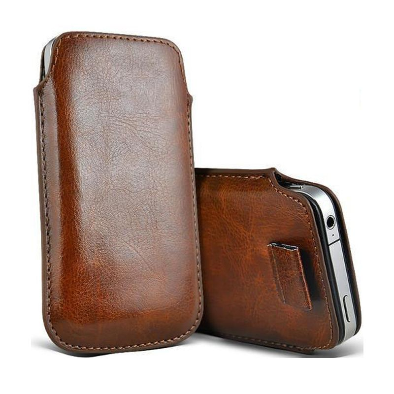 Sale!! Leather sleeve Leather pouch Also for iPhone 6  6 plus Leather iPhone case Distressed leather Brown iPhone 5 sleeve