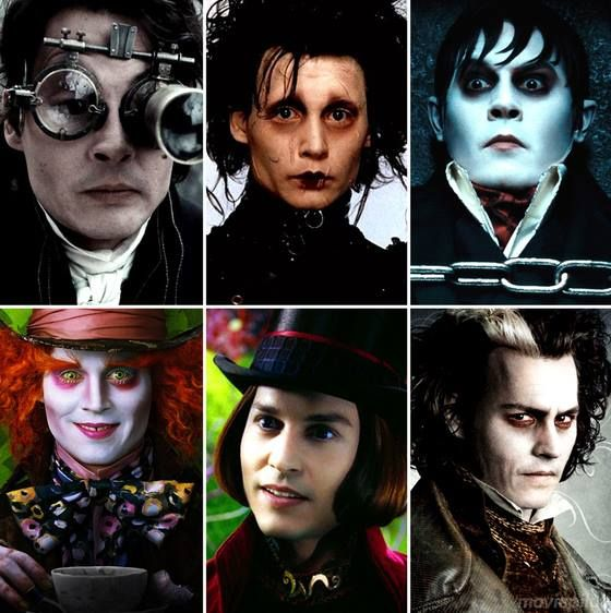 Johnny Depp weird characters