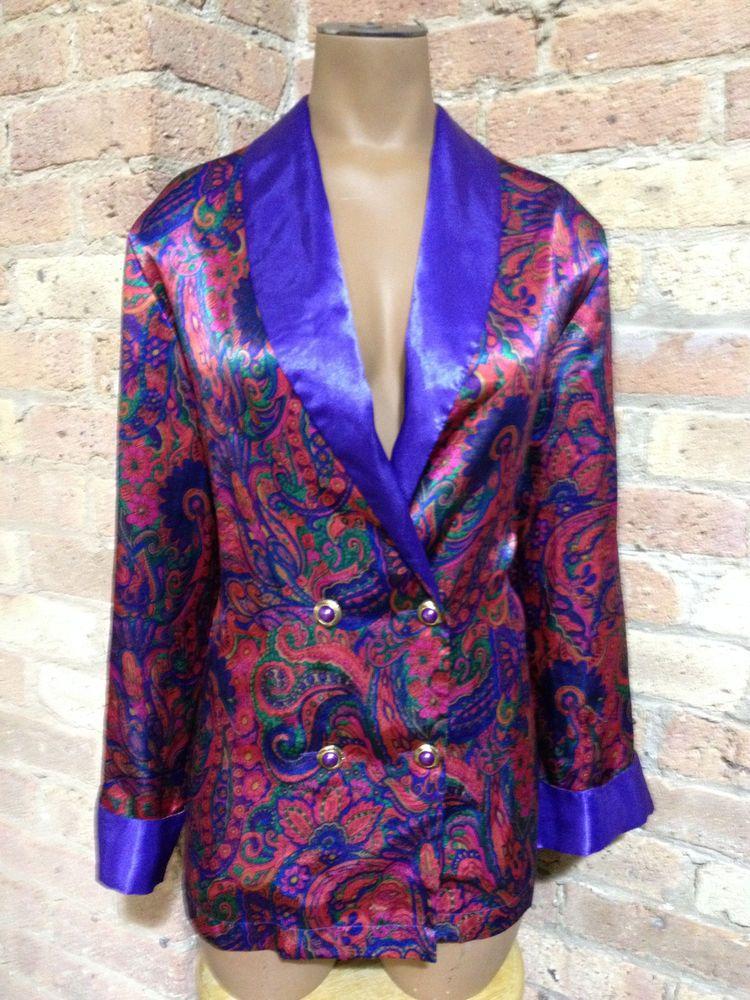 2325700c85 Victoria s Secret ~ Vintage Purple Sleep Shirt size Petite Pajama Top Small  PS  VictoriasSecret