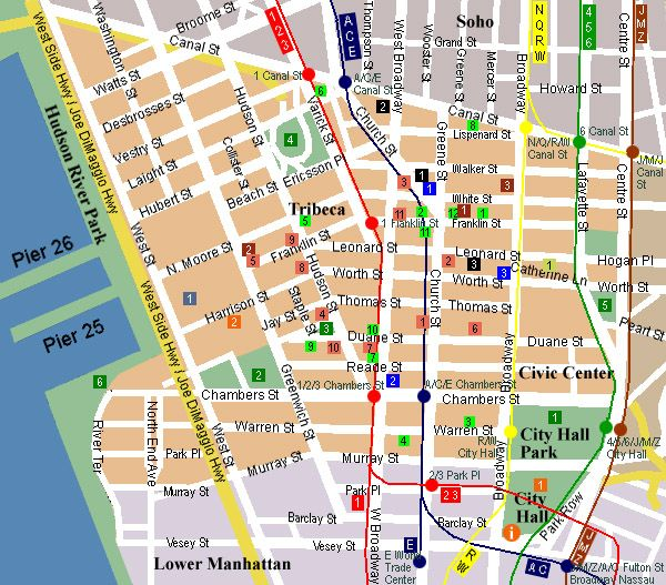 Map of  Chinatown  NYC  14b011cc61089