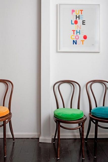 Thonet Bentwood Chairs And Castle Artwork Diy Home In 2019