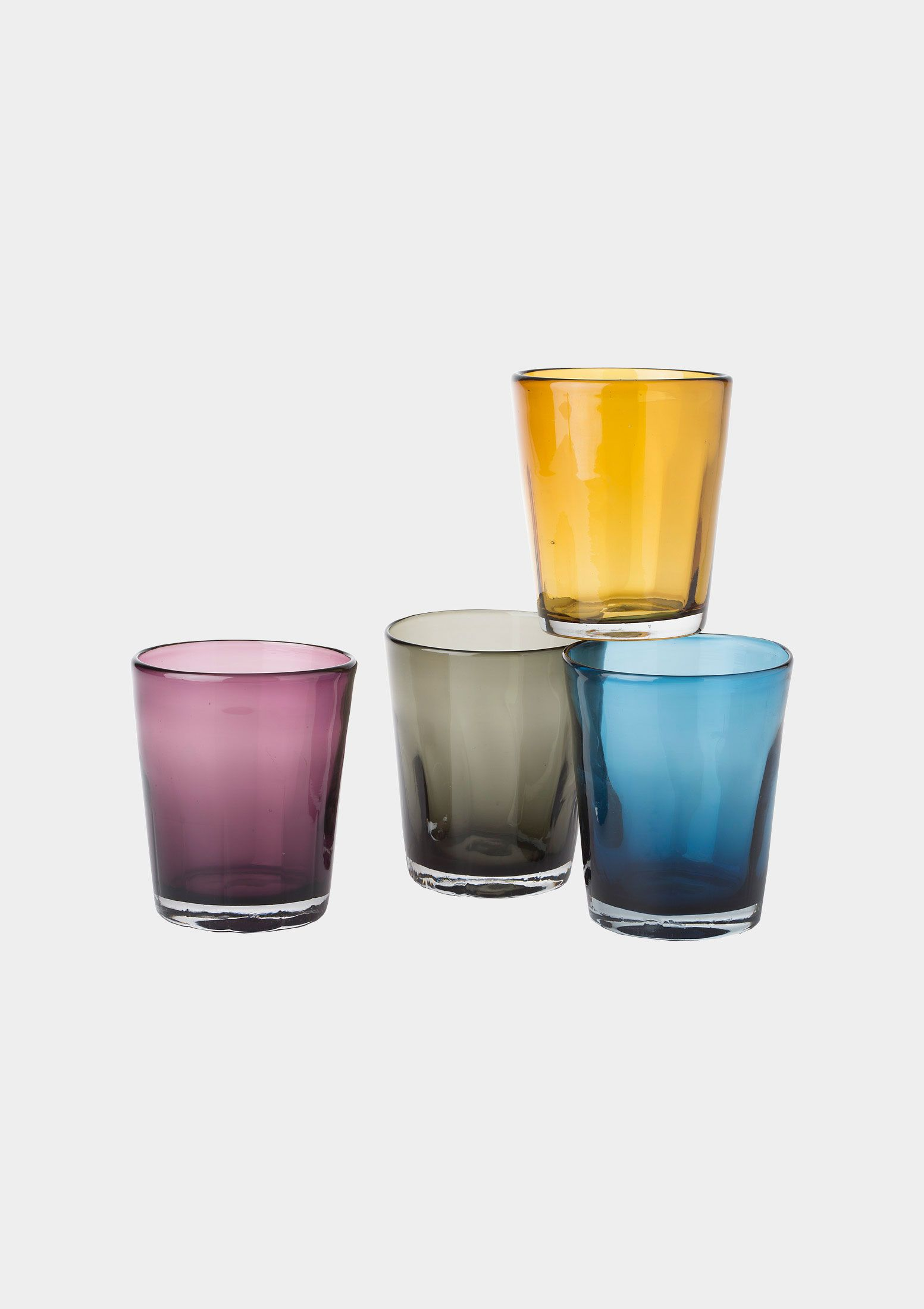 COLOURED TUMBLERS by TOAST