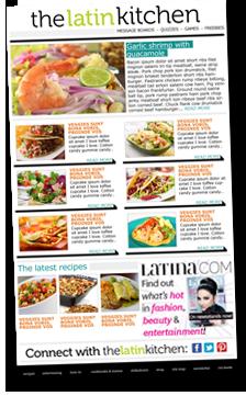 Latin Kitchen Newsletter Success Latin Kitchen Latest Recipe Food