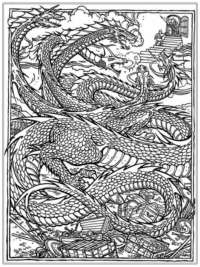Dragon Coloring Pages For Adults Awesome Dragon Coloring Pages For Adults Best Coloring Page Dragon Coloring Page Detailed Coloring Pages Online Coloring Pages