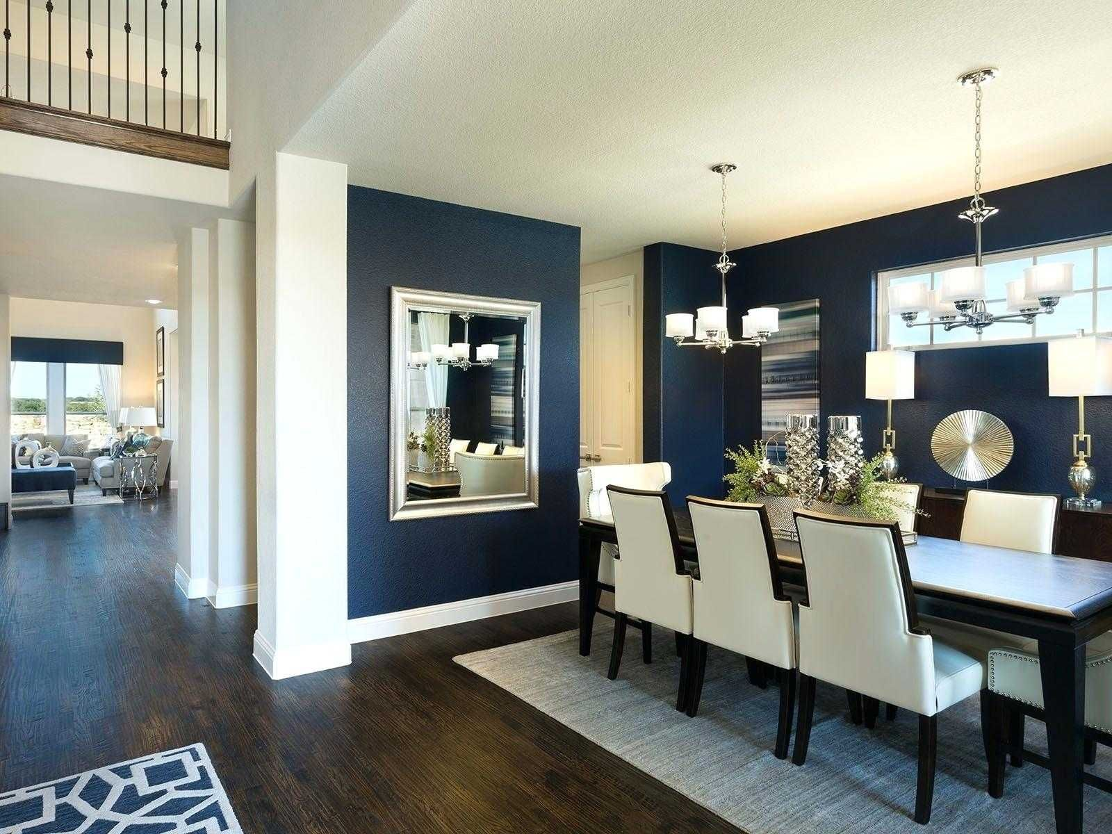 Excellent Photo Of Townhouse Decorating Ideas Modern Dining Room Navy Townhouse Decorating Dining Room Blue