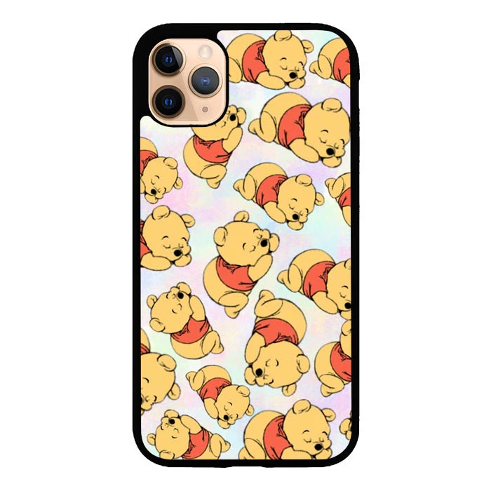Flazz Squaze Winnie The Pooh Pattern L0296 iPhone 11 Pro Max Cover Cases