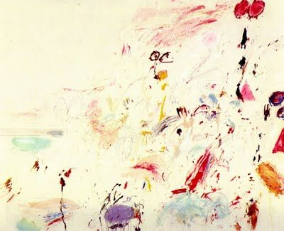 Cy Twombly: The Bay of Naples (1961)