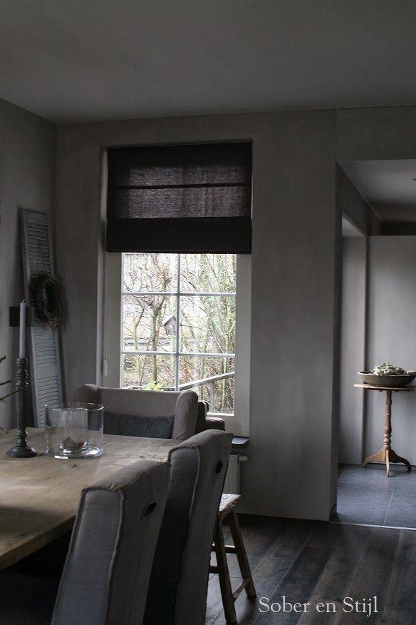 Sober en Stijl   灰   Pinterest   Gray, Interiors and Gray interior