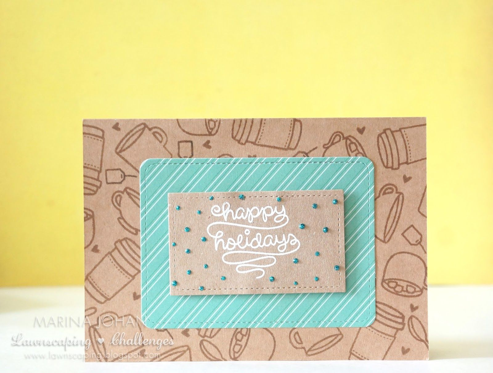 #lawnscaping Lawnscaping Challenge: Creating Your Own Patterned Paper  @lawnfawn