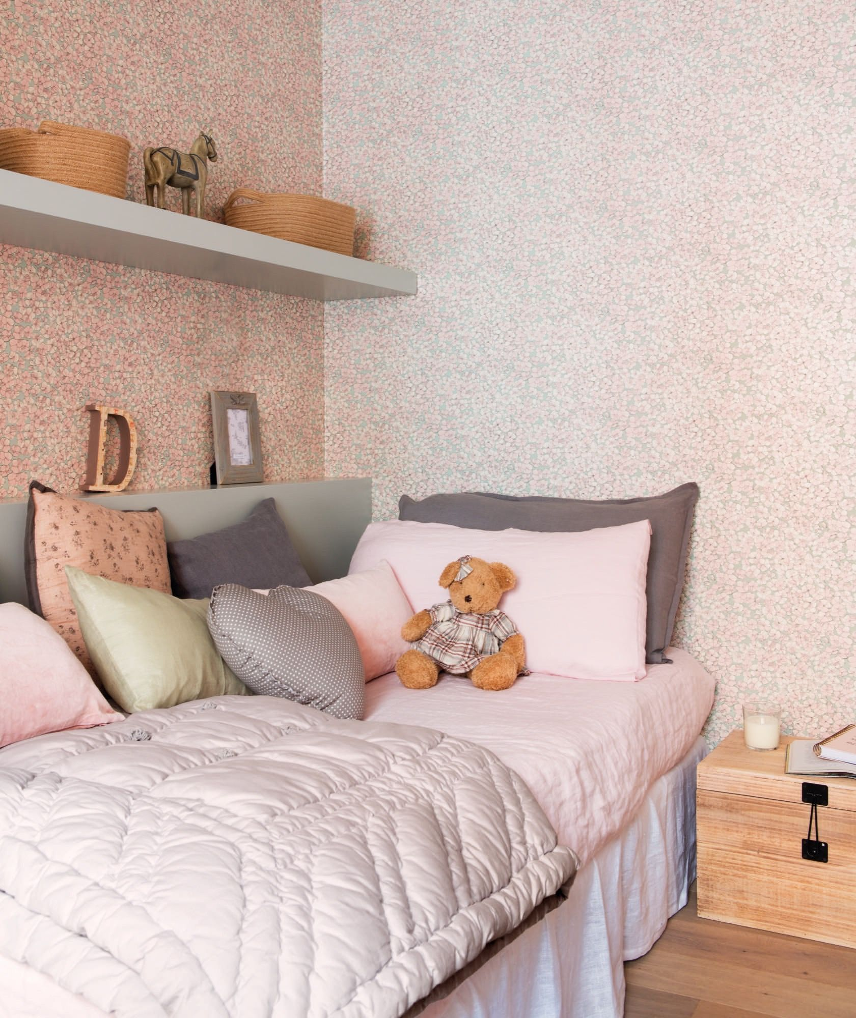 No tan infantil decohogar decoracion habitacion - Habitacion juvenil nina ...