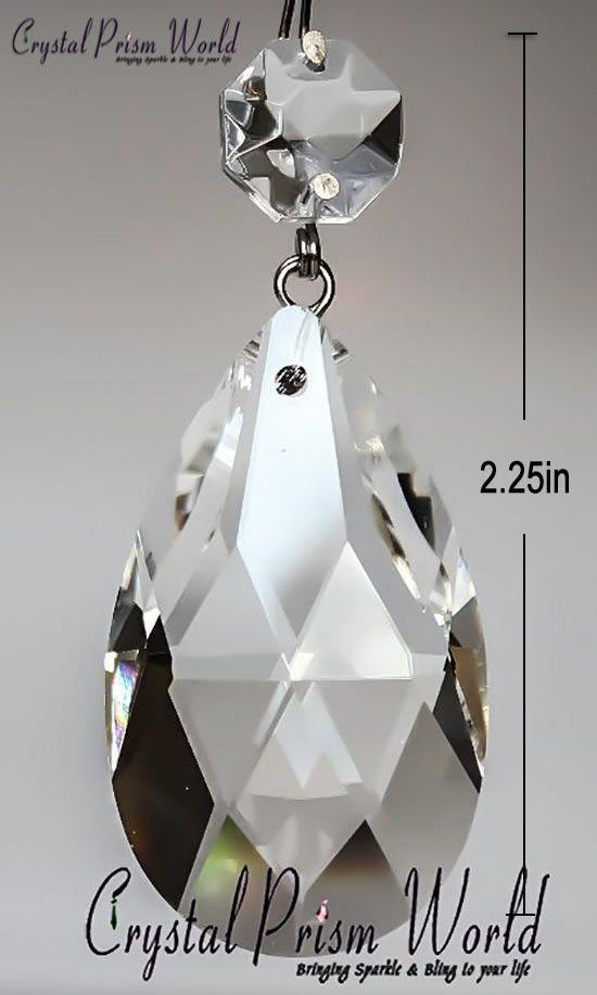 Hanging Teardrop Crystal Prism Crystal Prism World Crystal