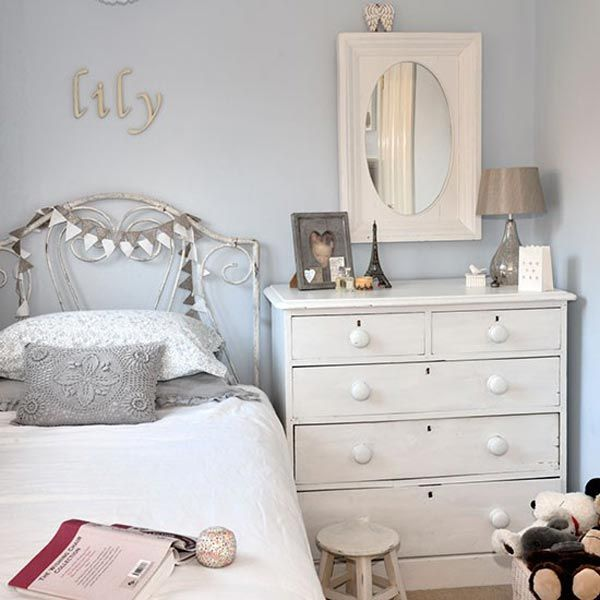 Nice Small Vintage Bedroom Ideas Part - 14: Small Grey Bedroom Romantic Bedroom Ideas. Vintage ...