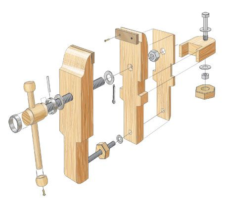 Bench Vise Woodsmith Plans Clamps In 2019 Woodworking Bench