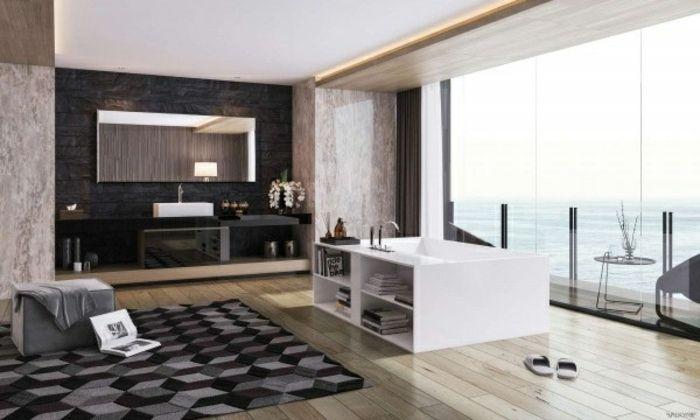 Teppich Badezimmer ~ Valkyrie studio mit teppich und ozean blick badezimmer design