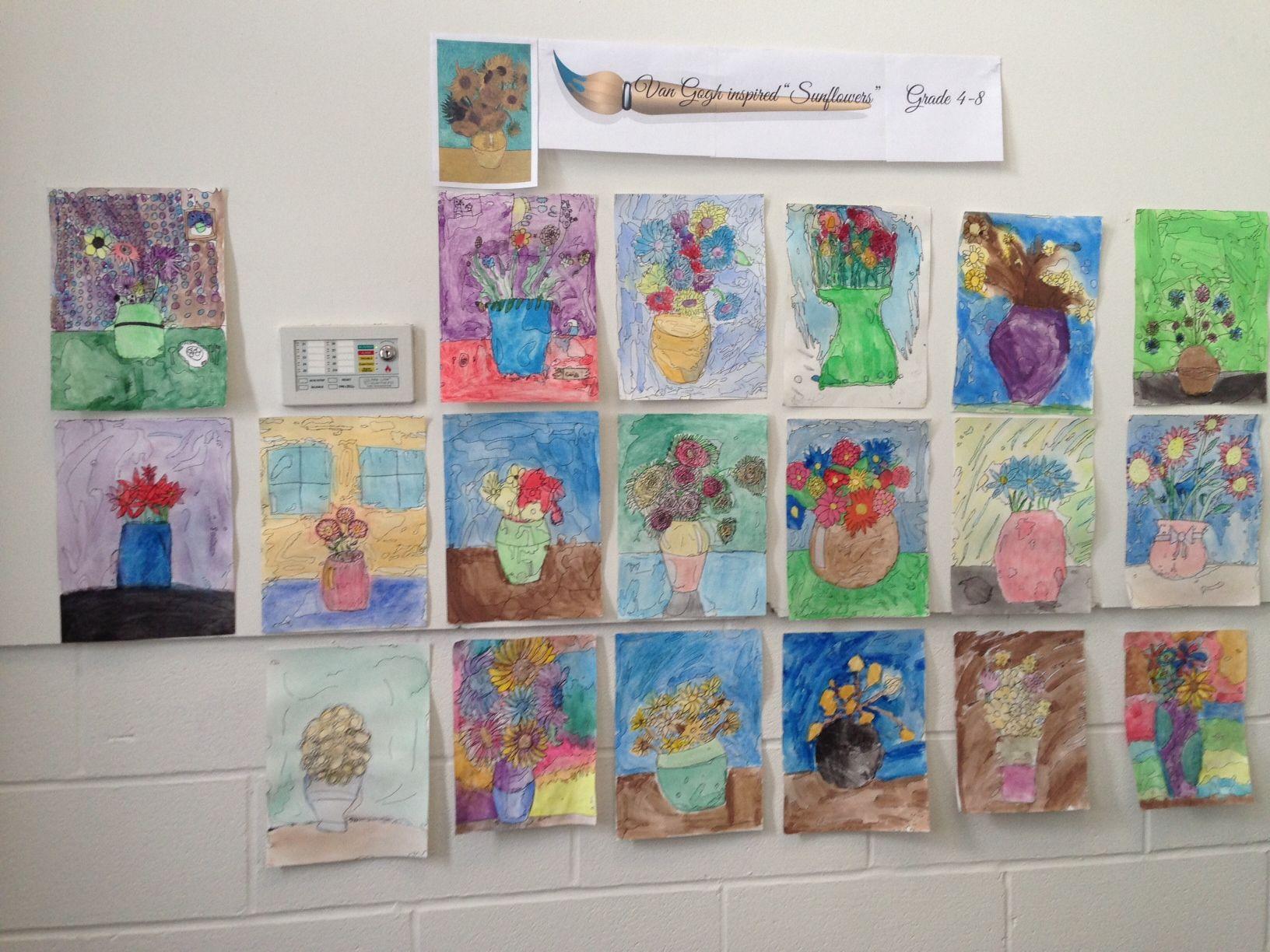 Baldwinsville Christian Academy Art Lesson Middle Junior High School