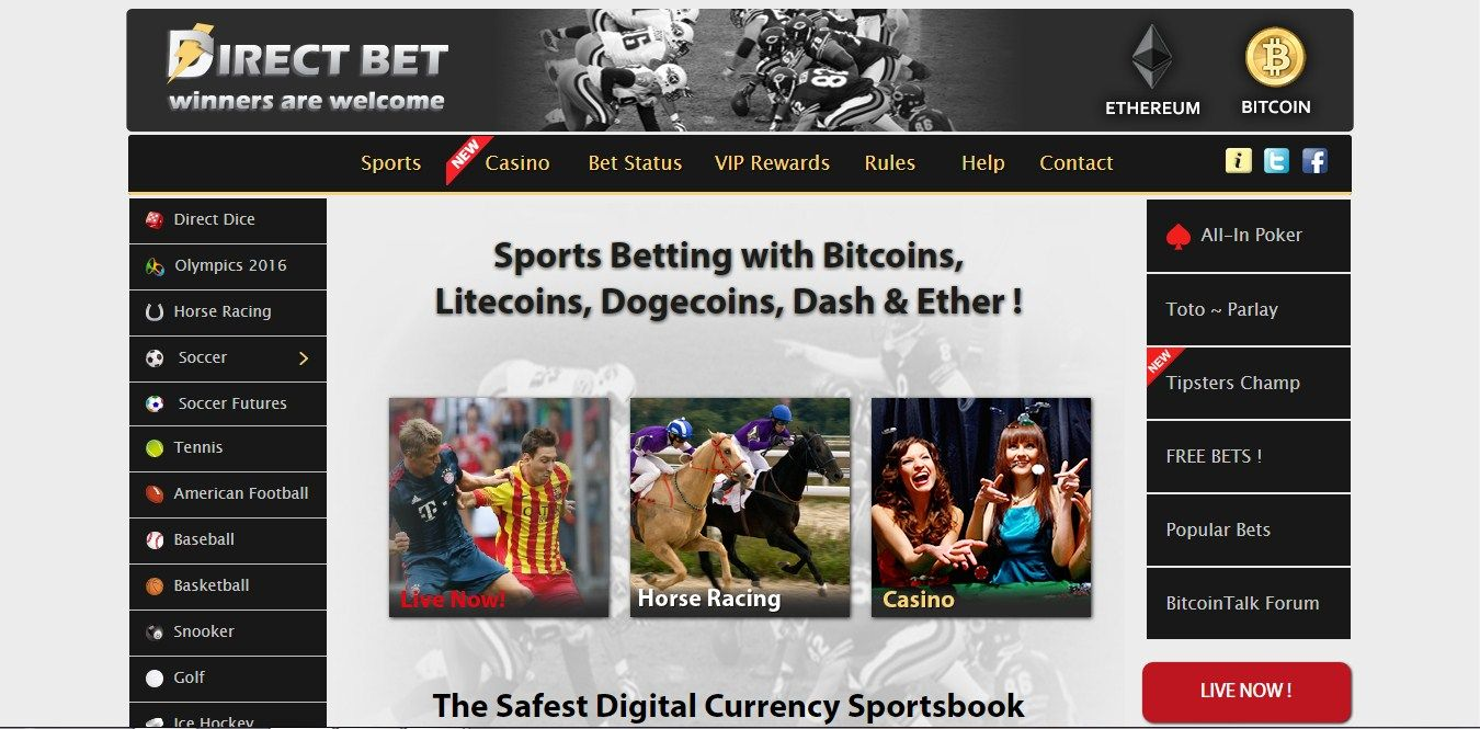 An in depth review on DirectBet the easiest sports