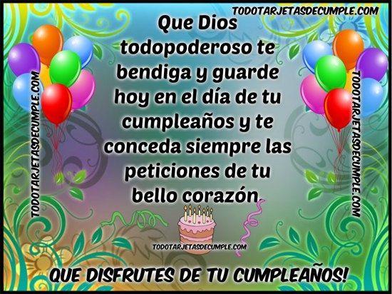 Tarjetas Gratis De Cumpleaños Para Hermano En Facebook Que Esta Lejos Tarjeta De Cumpleaños Cristianas Tarjeta De Cumpleaños Gratis Feliz Cumpleaños Cristiano