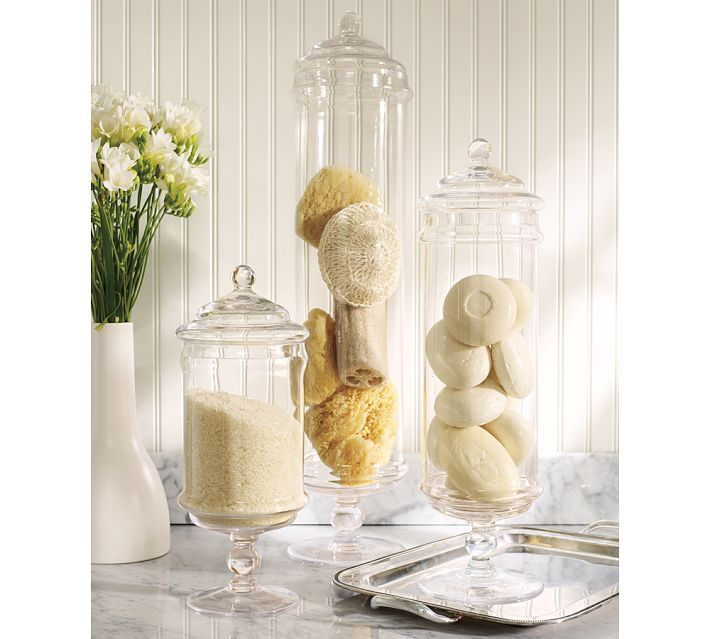 driven by d cor decorating with apothecary jars tons of
