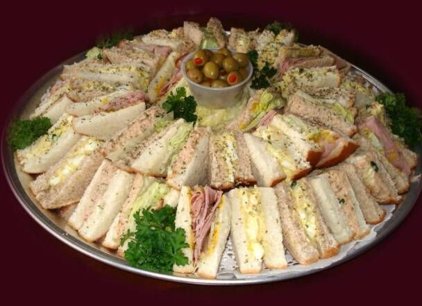 Pin by Kim Walker on Bridal shower ideas | Party sandwiches