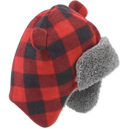 Kids Toddler Baby Costume Party Hat Hood Ear Warmer Beanie Trooper Hat Fleeced