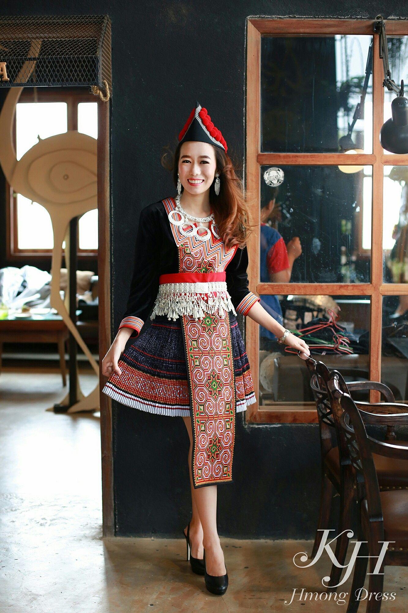 Hmong clothes fashion sale kue
