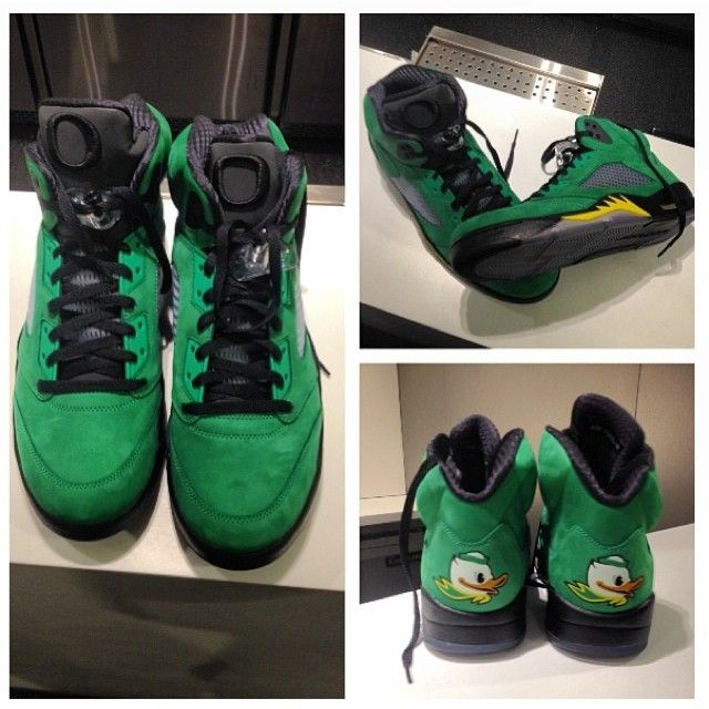 timeless design 9c43d 7b89e Air Jordan 5 - Oregon Ducks PE