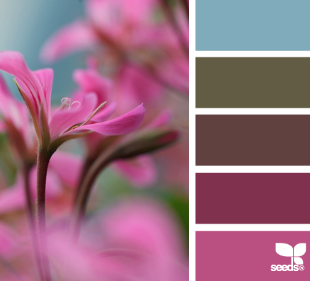 Color Wander | Flora, Color inspiration and Color combos