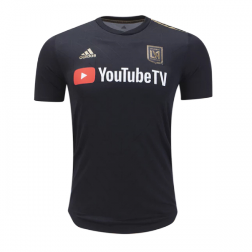 fa3db4a86e2 2018 Los Angeles FC Home Black Soccer Jersey Shirt(Player Version) YouTube  TV