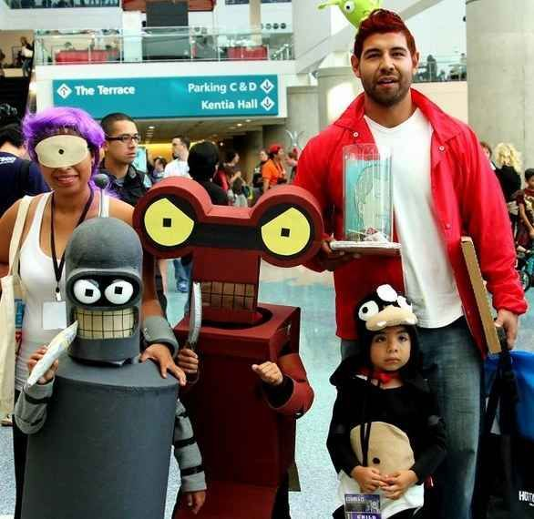 The Futurama Family Futurama, Cosplay and Costumes - halloween costume ideas for family