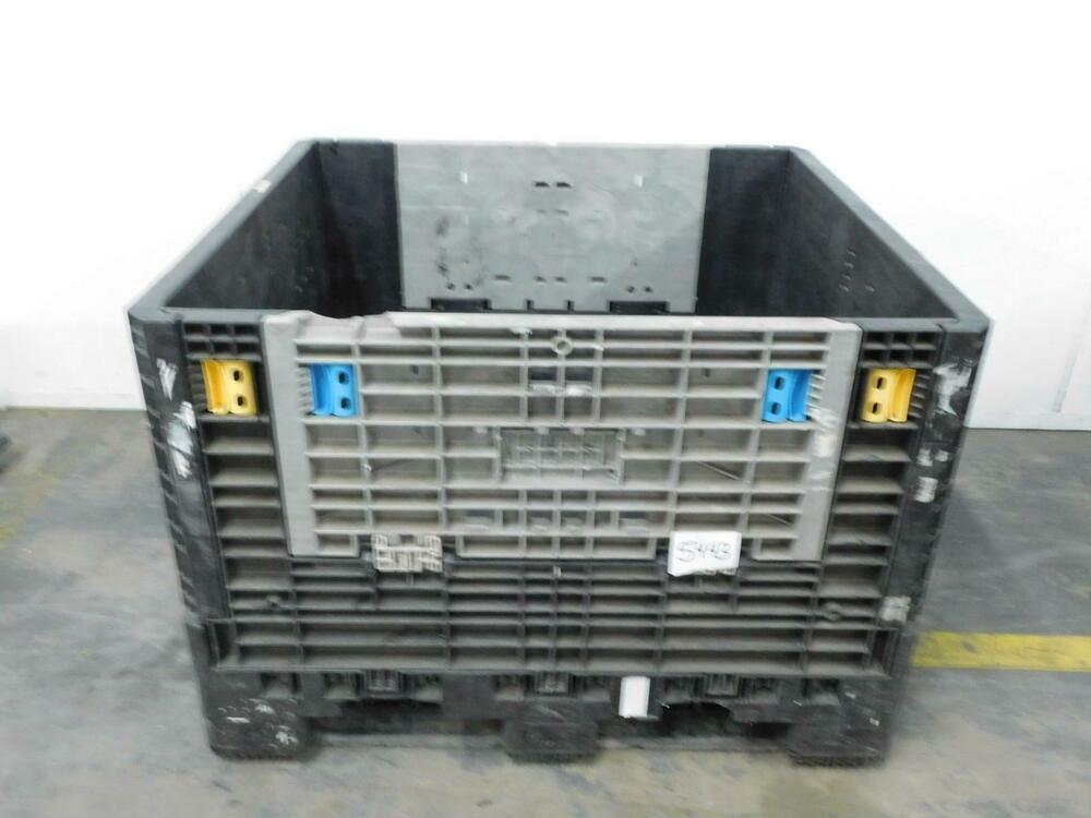 Ebay Sponsored Orbis Ropak Plastic Collapsible Crate 48x45x33 T132732 Material Handling In 2019 Orbis Crates Plastic