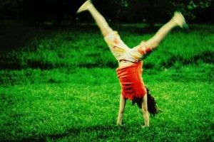 cartwheels--I was so good at these