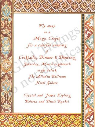 Moroccan Mystery Invitations Party Pinterest Dinner invitations - invitation wording for mystery party