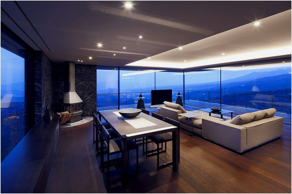 After Spending Many Years Searching For The Ideal Site To Build His Home,  The Owner Came Across This Heavenly Sloping Mountain Ridge At The Foot Of  The ...