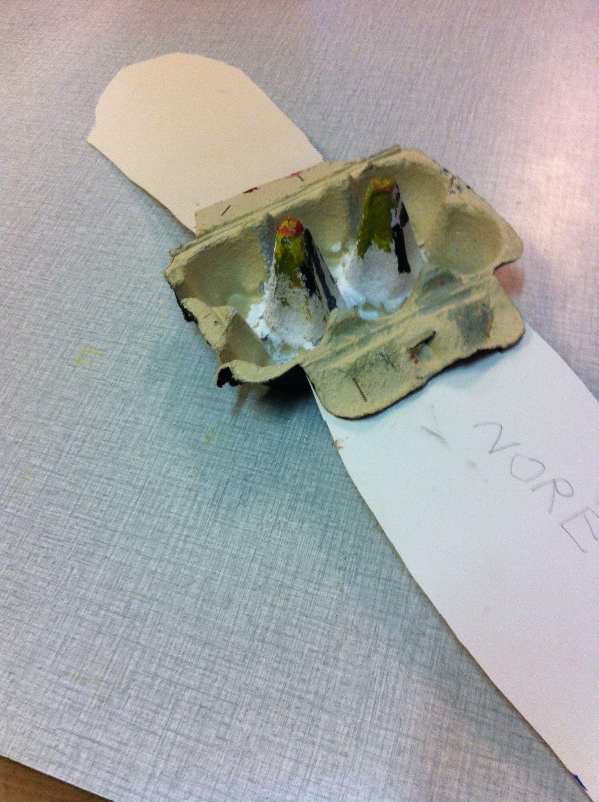 ABK Mortsel, opdracht figuren in verpakking en het wordt een vliegtuig