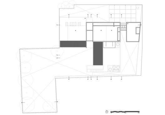 Galería de Casa Jardín   DCPP arquitectos - 26 Roof plan, Garden