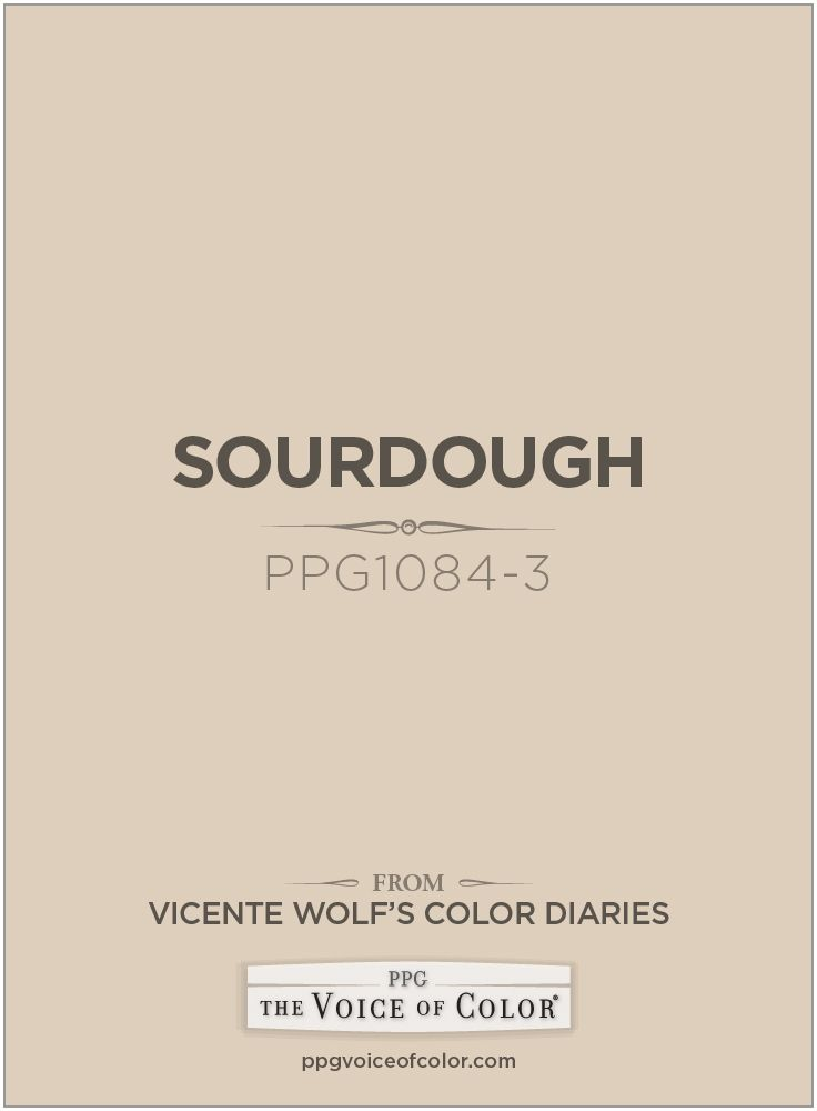 Sourdough Ppg1084 3 A Vicente Wolf Inspired Color As Part Of The