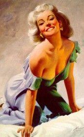 Donald Rust | Pin-Up artist | Vintage art