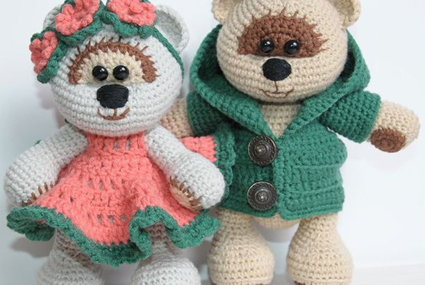 Knitted Teddy Bear Picturesque Unique Picturesboss