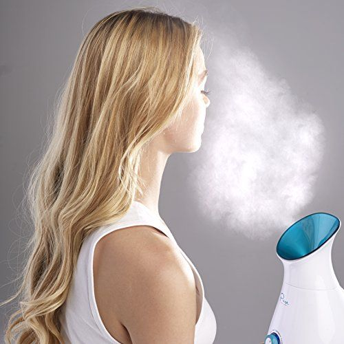 90a22ed40d6a8 NanoSteamer - Large 3-in-1 Nano Ionic Facial Steamer with Precise ...