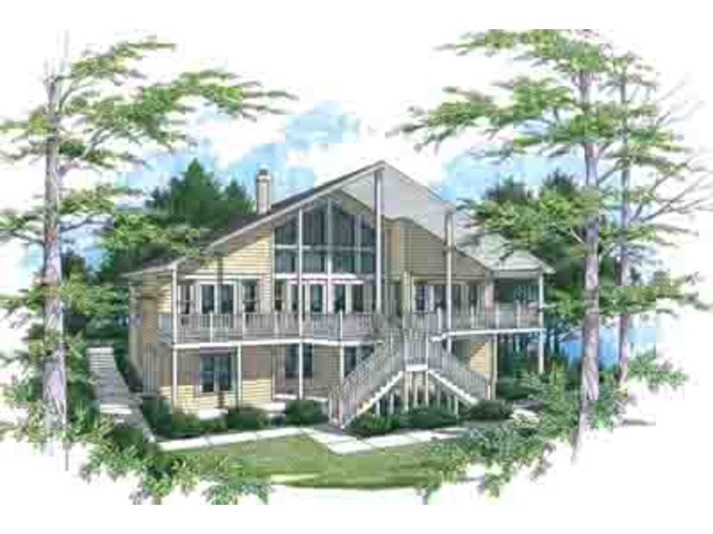 Houseplans plan front elevation house plans
