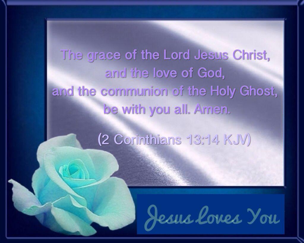 2 Cor 13:14