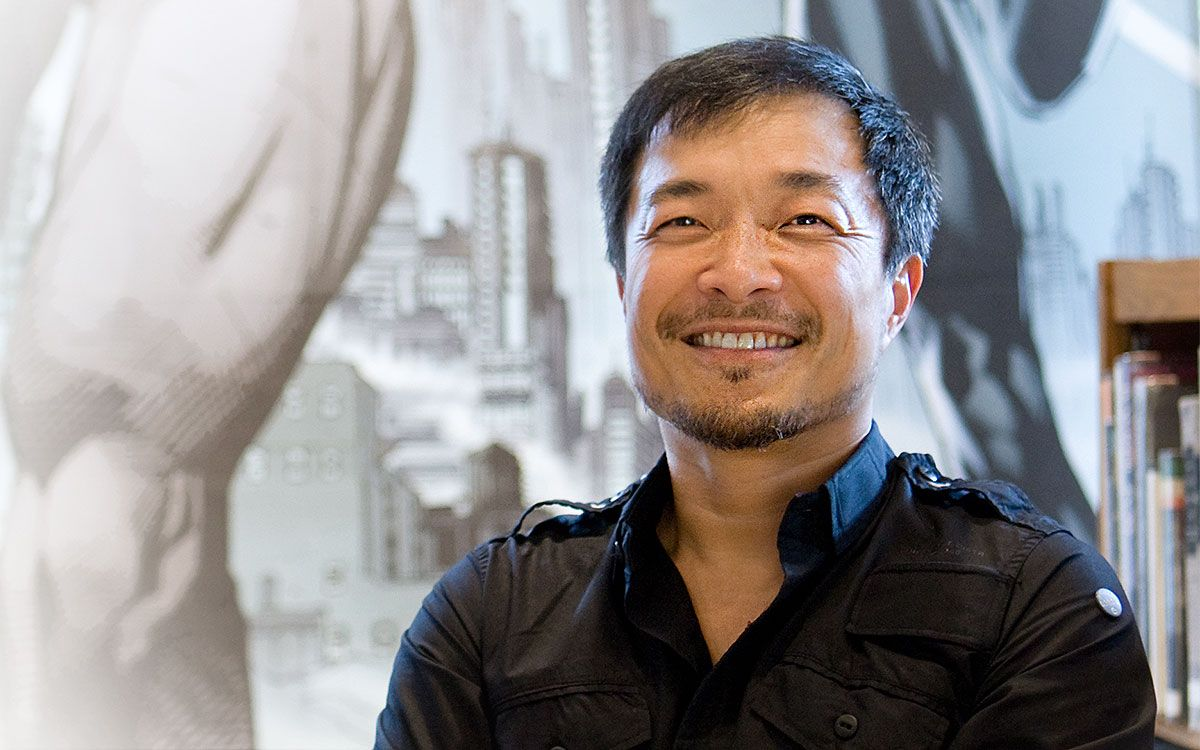 On the Red Couch with Comic Book Icon Jim Lee | Click the photo to read the interview on Inside Flipboard
