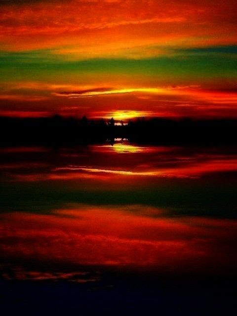 Sunsets & Sunrises -Sunrise   - Sunsets & Sunrises -Surreal Sunrise   - Sunsets & Sunrises -  - Sun