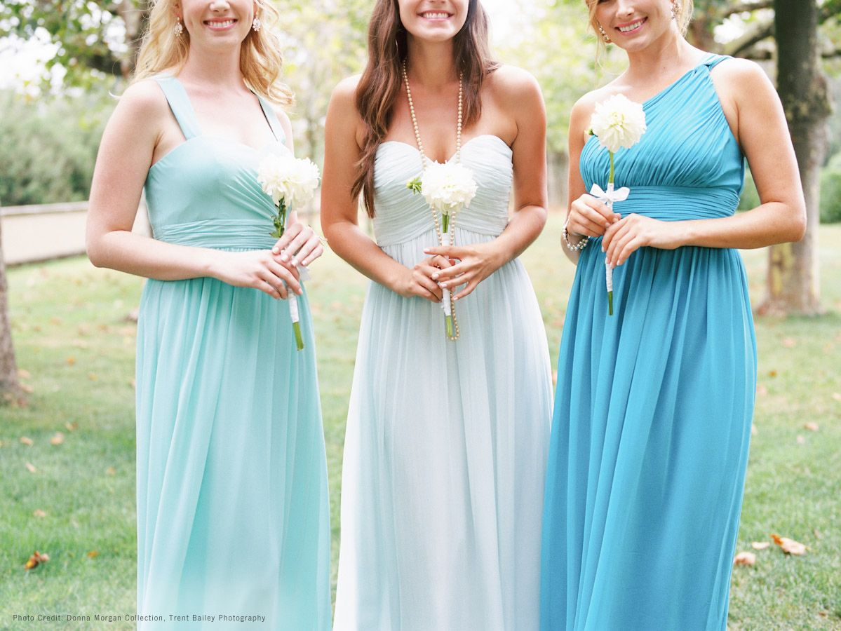 Ombre shades of blue with donna morgan dresses hint of mint ombre shades of blue with donna morgan dresses hint of mint gulfstream and ombrellifo Images