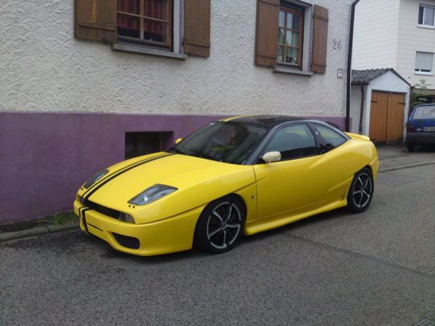 Fiat Coupe 2 0 20v Turbo Plus Avec Images Coupe Fiat Voiture