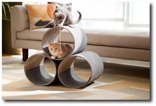 Lowes DIY Kitty Condo