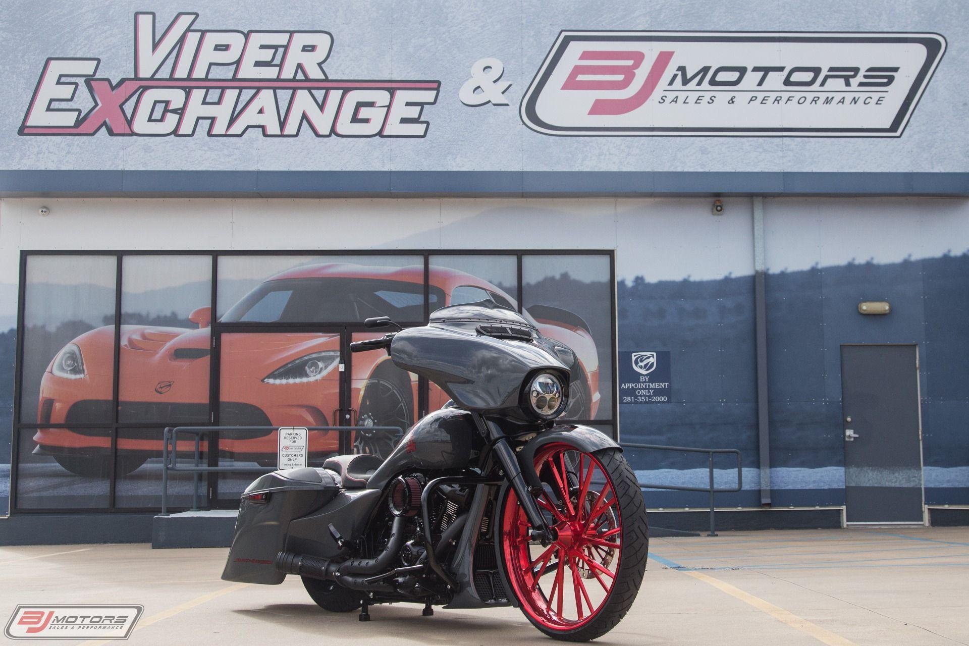 Used 2018 Harley Davidson Street Glide Custom Bagger Cars