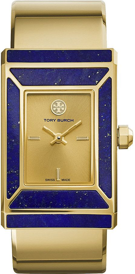TORY BURCH The Robinson limited edition gold-toned stainless steel watch $1,275 down to $635