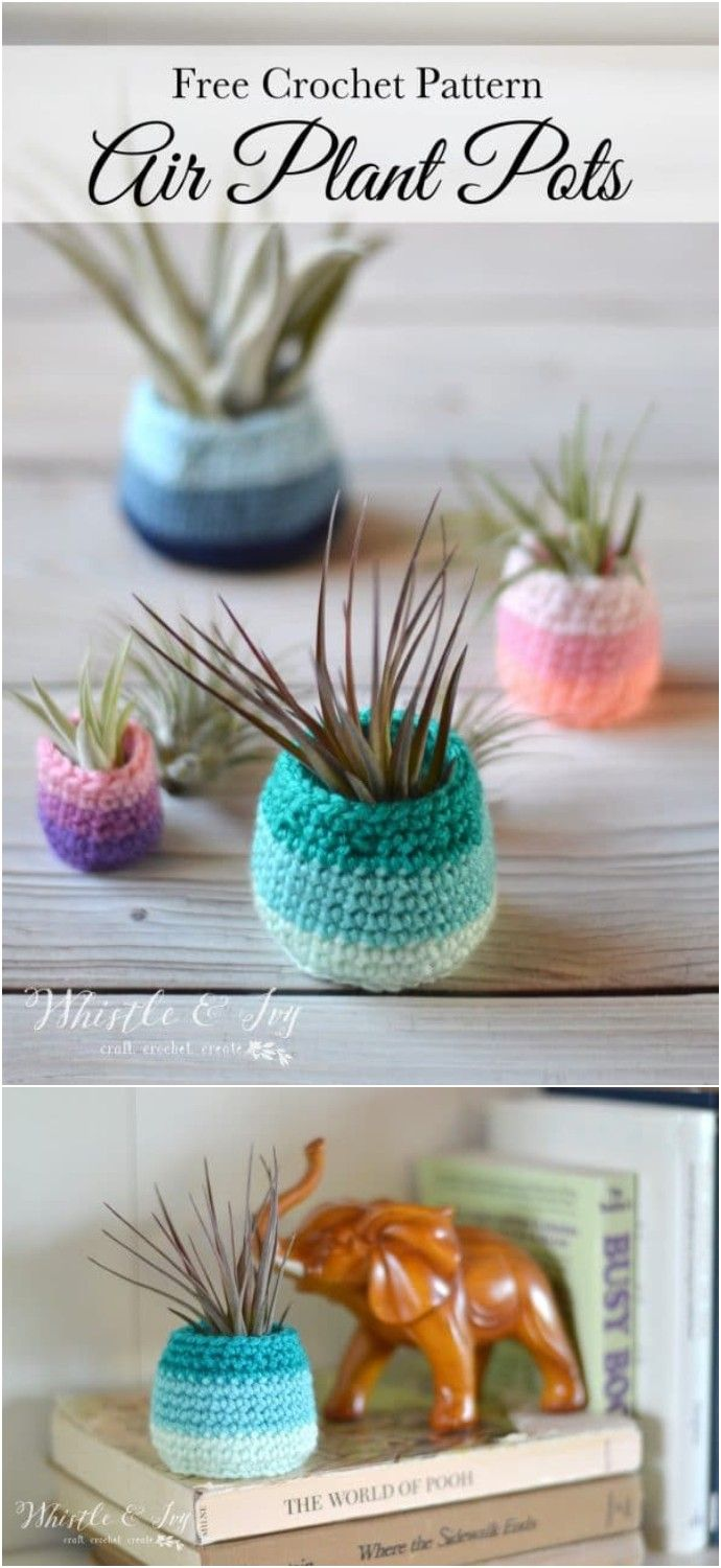 10 Crochet Stash Busting Projects – Free Patterns -   19 knitting and crochet Projects fun ideas