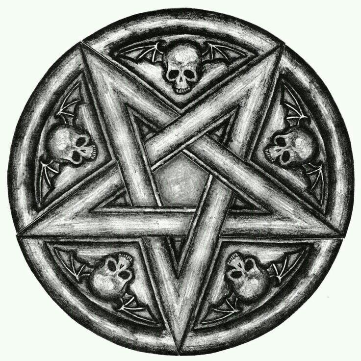 Pentagrama Tattoo Pinterest Satanic Art Tatuajes And Tattoo